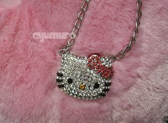 Major Hello Kitty Bling (*Ayumuro*) Tags: cute japan asian necklace pretty crystals ebay hellokitty gorgeous sanrio kawaii swarovski bling jewelery lovely onlineshopping