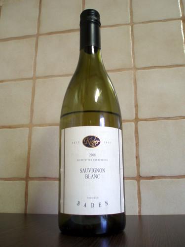 2008 Sauvignon Blanc trocken Eichstetter Herrenbruck Weingut Kiefer Eichstetten