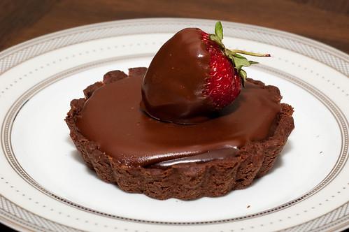 Pink Parsley: Chocolate Truffle Tarts