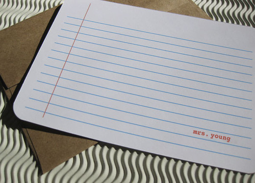Personalized Note Book Stationery