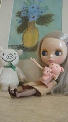 Cindy with Buta-san's family