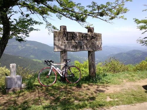 刈場坂峠の眺めは素晴らしい