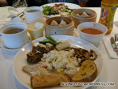 My heavy lunch