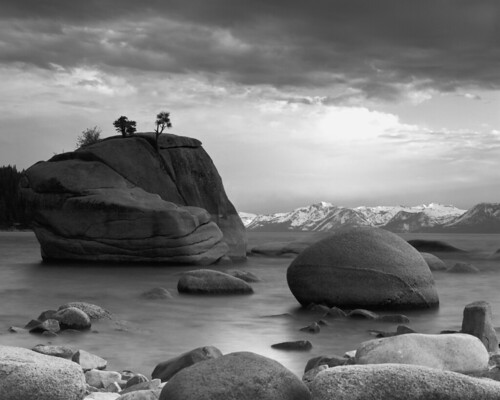 Bonsai Rock - Lake Tahoe (Explored)
