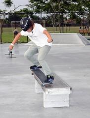 Nose grind (sk8miami) Tags: skateboarding kick air ollie 180 skatepark flip skitch skateboard manual 50 boneless tweaked 5050 alx sk8 heal  kickflip back180 heelflip noseslide nosegrab regal4 tailstall backlip rocktofakie taildrop indygrab pentaxdafisheye1017mm skatemiami miamiskatepark sk8miami 360shuv floridaskateboarding kendallfreepark deckgrab westwindlakes feepark kendallskatepark miamiskateboarding westwindlakesskatepark westwindlakespark skateboarddowntownmiami beamplant