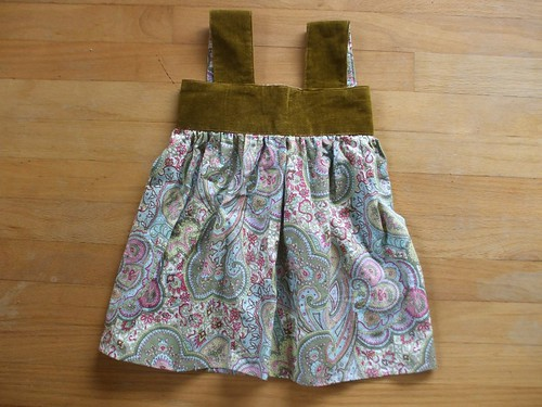 swap received - dress front!