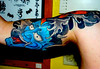 Half Sleeve Japanese Koi and Hanya Tattoo - Inner Arm
