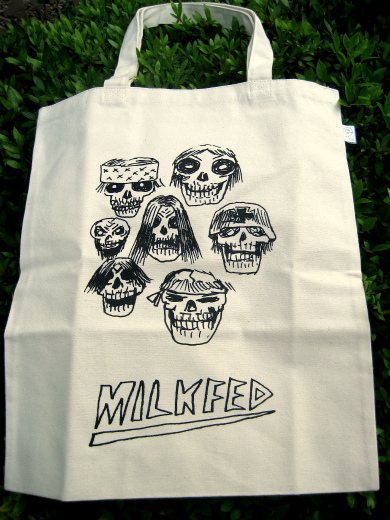 Milk Fed Eco Bag / Heavy Metal by Geoff Mcfetridge
