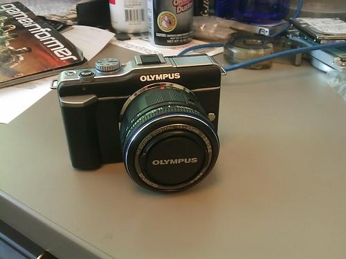 Olympus PEN E-PL1 (lens collapsed)