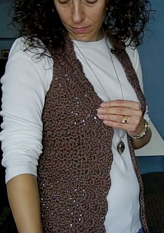hippie crochet vest on Etsy, a global handmade and vintage