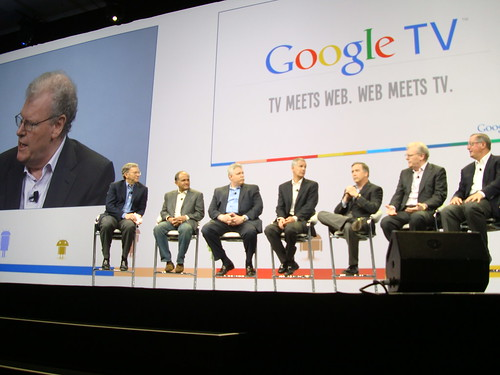 Sir Howard Stringer at the Google IO conference