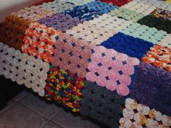 Colcha (Zizi Anil) Tags: casa artesanato artesanal anil fuxico decorao manta artesanatos zizi colcha fuxicos colchas zizianil