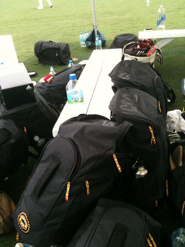 Sea of CSC backpacks