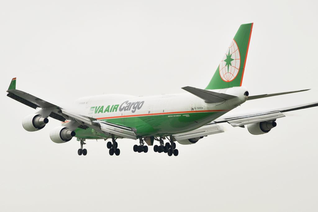 EVA Air Cargo Boeing 747-45EM (BDSF) (B-16462)