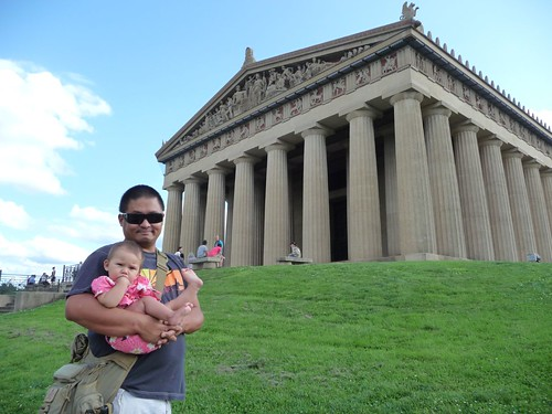 dada and mila at parthenon.