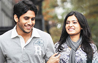 Samantha and Naga Chaitanya in Ye Maaya Chesaave