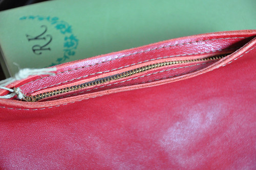 red cosmetics pouch 2