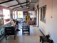 Balcon de notre chambre à Chiang Mai