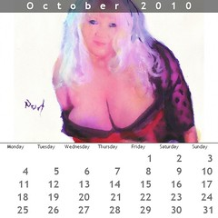 pretty blonde october