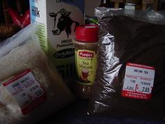 Chai ingredients