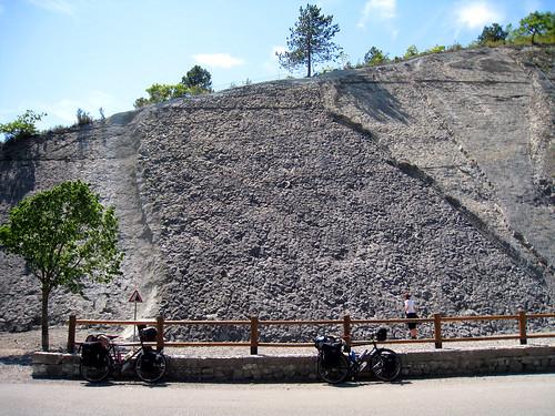 Ammonites near Digne Les Bains