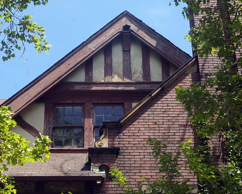 Detail, John T. Gill residence
