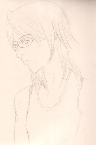 Art - Ryu sketch