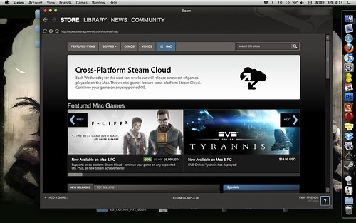 now STEAM for MAC!