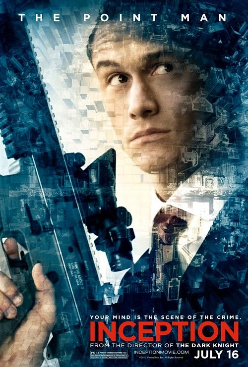 Inception movie poster the point man