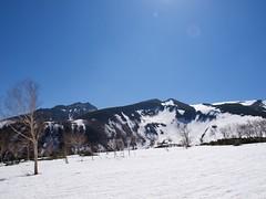 左から愛別岳、永山岳