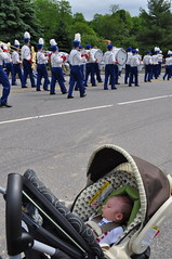 Baby's first parade