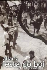 Allariz - 2005 - Festa do Boi - cartel