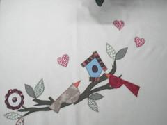patch 226 (Patchwork Sonia Ascari) Tags: flores bird apple café feira toalha bolsa cozinha molde maça tubarao passaros riscos patchcolagem feagro braçodonortepatchwork