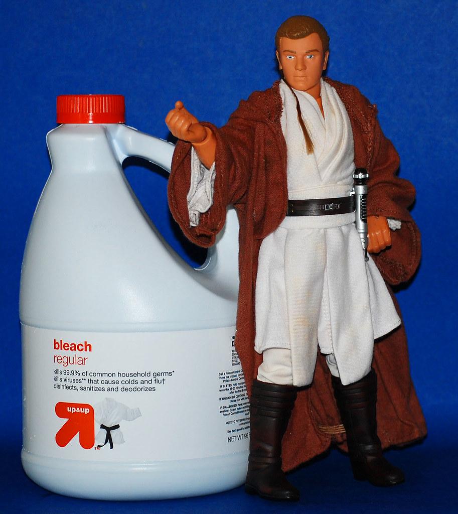 Obi Wan believes in the power of BLEACH!