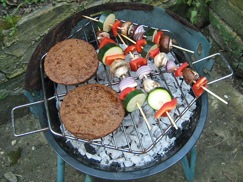 first barbecue of the summer