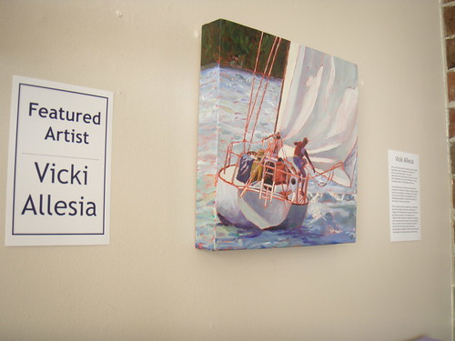 June's featured artist:Vicki Allesia