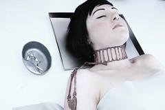 june 2010 (suzimedia) Tags: fashion ruffles death design university jewelry cape graduate coventry morgue knifes skelington accessorys