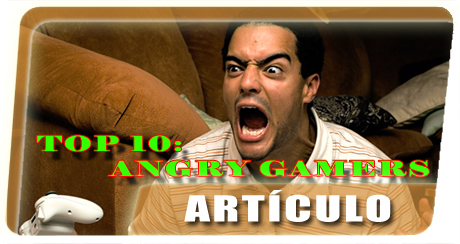 Top 10 Angry Gamers Banner