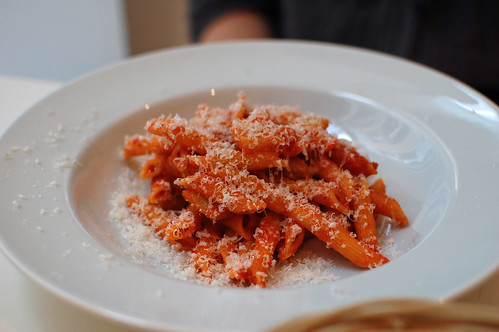 Penne with Fennel Ragu and Parmesan