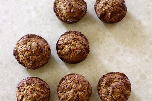 Sour Cream Molasses Bran Muffins