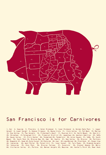 San Francisco is for Carnivores - Red