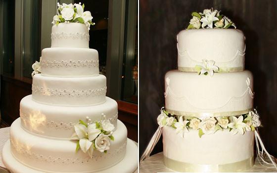 Tortas boda blanca