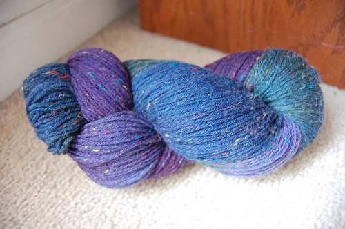 Hand Painted Knitting Yarns, Donegal Sock