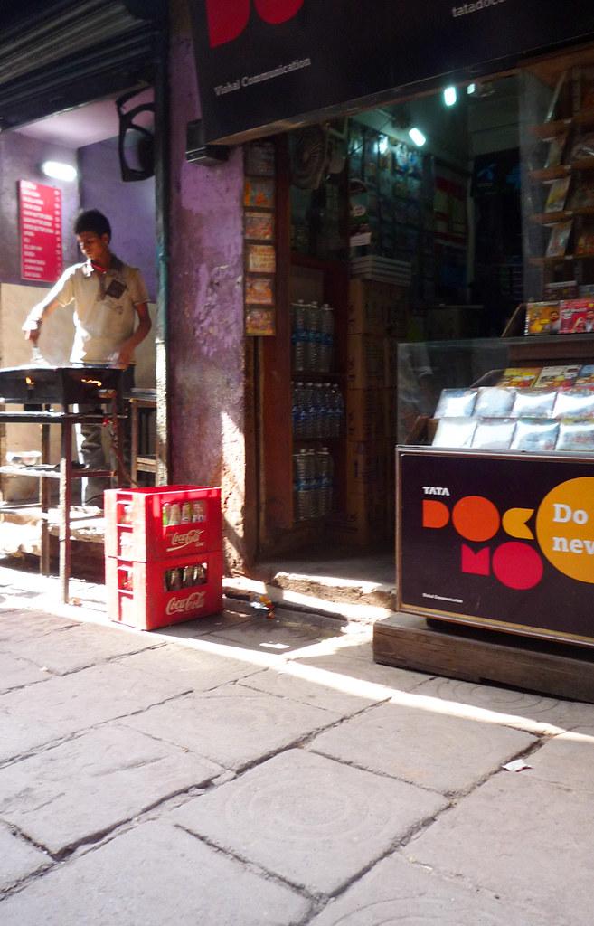 Street Food Stall — Varanasi, India