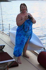 Sunset Photographer IMG_8686 (SunCat) Tags: travel cruise sunset vacation woman girl sailboat island photography islands friend girlfriend all photographer outdoor bbw salt spouse virgin wife british caribbean debbie sweetheart lover mate companion sarong charter bvi soulmate 2010 pareo braless confidante flamboyance so