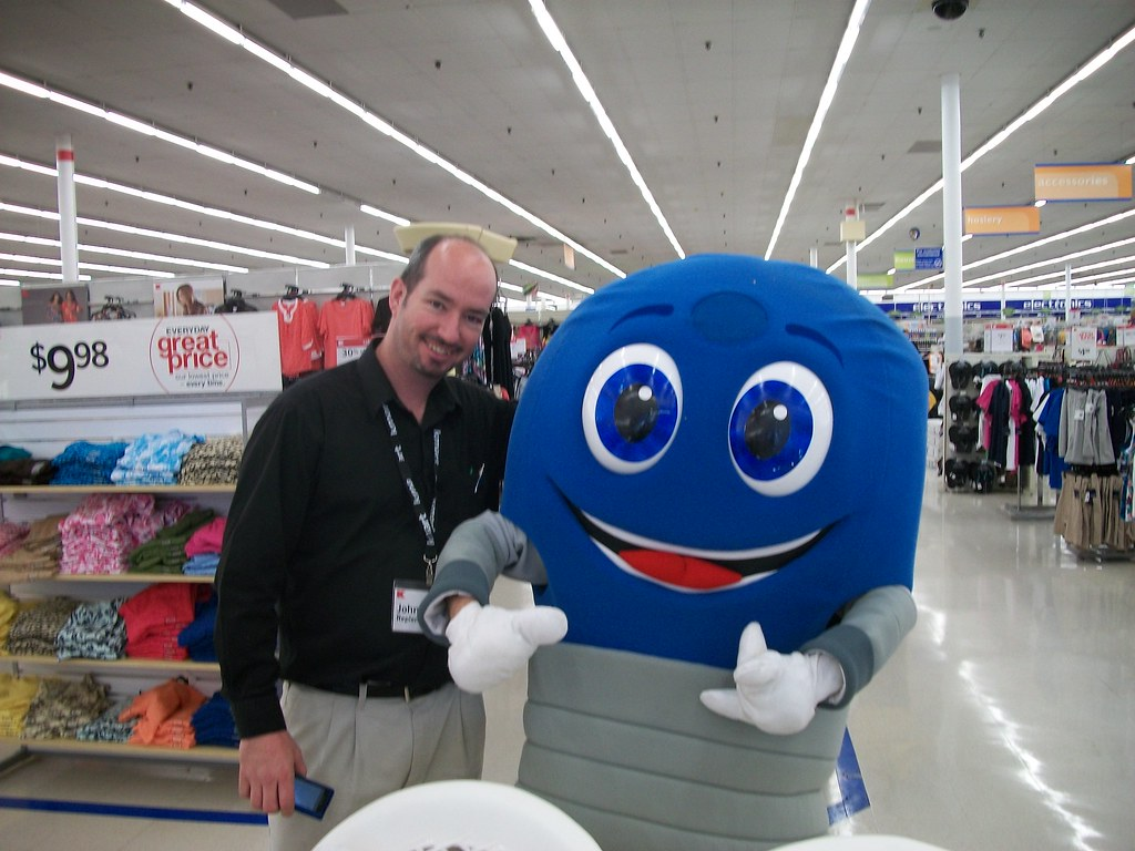 Mr Bluelight In Philadelphia With Kmart Employee Mygofer Tags Mygoferevents