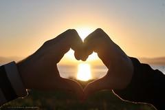 (Dircinha -) Tags: sunset love sol canon heart amor corao cuore namorados mo  diadosnamorados dircinha amoryahoo