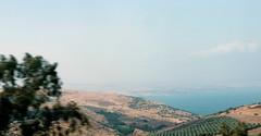 Golanhöhen mit See Genezareth