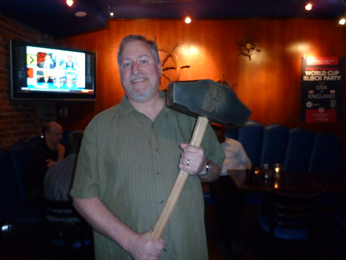 Me with the Hammer of Glory