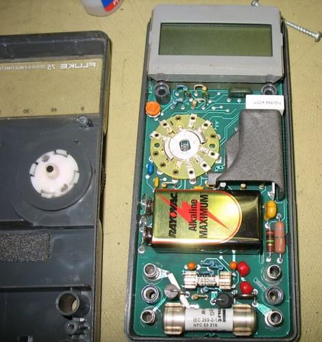 Fluke 75_02 por Electrónica Pascual.